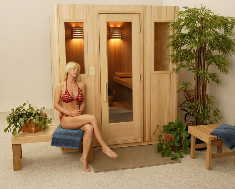 Leisure Living Finlandia Prefabricated Indoor Sauna Room